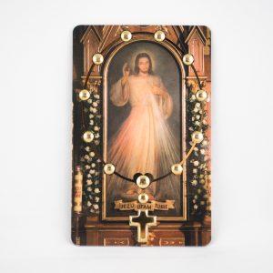 Karty plastikowe z modlitwą
